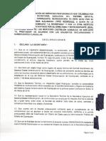 Contrato de prestación de servicios profesionales Phronesis