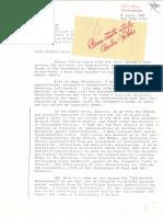 Charles Yerkes to Syngman Rhee, April 1981