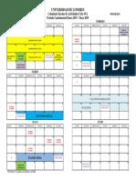 Calendar i o Pos Gra Doc