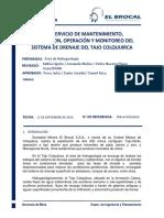 TDR Trabajos Operativos Tajo Hidrogeología (2 Años) V4.2