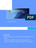 Introduction - Dynamics NAV 2013- FORMATION