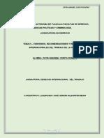 Tema IV. Convenios, Recomendaciones Zmzr