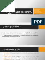 l'Audit Des Opcvm Encg Fes