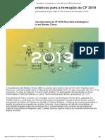Estratégias e Expectativas Para a Formação Da CF 2019 _ Portal Kairós