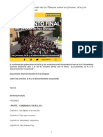 Documento Final Sinodo de los Obispos