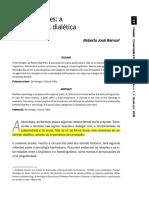 Roland Barthes A semiologia da dialéctica
