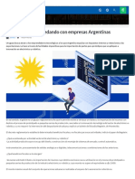 Uruguay Se Esta Quedando Con Empresas Argentinas