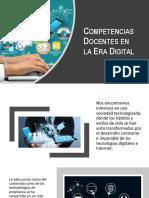 Competencias Docentes en La Era Digital