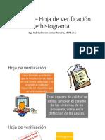Tema 6 – Hoja de Verificación e Histograma