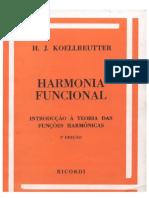 Koellreutter - Harmonia Funcional, introdução a teoria das funções harmônicas