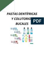 Pasta dental y Colutorios.docx