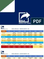 Grade Curricular ESLA - Final