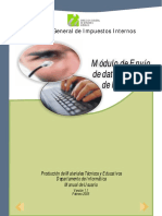 Manual Envio de Datos ITBIS Ver 03