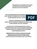 Determinant of Demand Pak Maqin