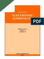 ELEKTRONSKE KOMPONENTE-2010