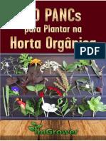e Book 20 Pancs Para Plantar Na Horta Orgânica Imgrower
