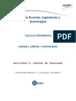 Actividad 2_Límites y continuidad calculo