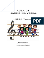 Harmonia Vocal, Aula 1