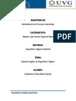 ASPECTOS LEGALES DE SEGURIDAD E HIGIENE INDUSTRIAL.docx
