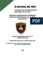 SILABO ULTIMO DE METOD. DE LA INVESTIGACIÓN-2018 II- ESPARTANOS 1.docx