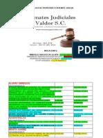 Catalogo de Propiedades de Remates Judiciales Valdor