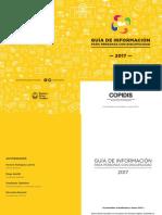 Discapacidad Guia de Informacion Para Pcd 2017