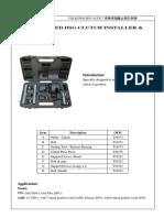 Rg0301 Instruction