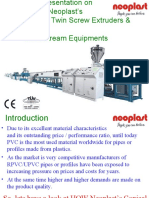 Presentation - Twin Screw Extrusion Lines