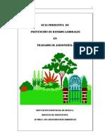 Guia de PRL en Jardineria
