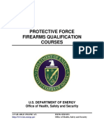 Protective Force Firearms Qualification Courses 0