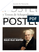 7 Textos de Schopenhauer Que Fara o Voca Repensar