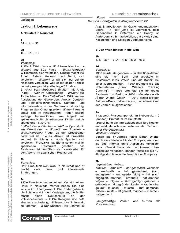 Fokus Deutsch Loesungen   PDF