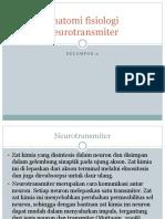 Anatomi fisiologi Neurotransmiter