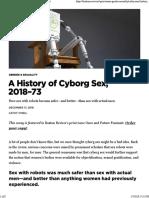 Cathy O'Neil - A History of Cyborg Sex
