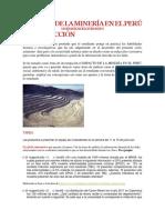 Impacto de La Minería en El Perú