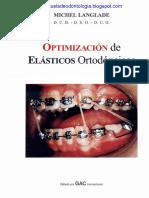 Optimizacion de Elasticos Ortodoncicos - Michel Langlade
