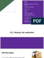 Maquinaria y Equipo en Las Areas de Logistica