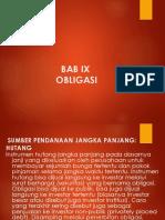 Bab Ix Obligasi