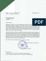 Surat Apresiasi Kemendikbud Untuk Lima