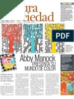 Abby Manock Presenta Su Mundo de Color, Pg. 59 EDH 14.10.10
