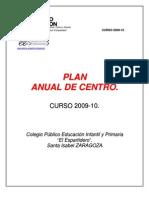 Plan Anual Del Centro