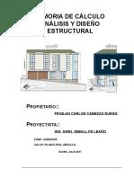 memoria Cálculo estructural Froilán.doc