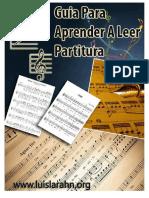 Guia Para Aprender a Leer Partiturapdf