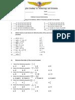 Gen Math Midterm