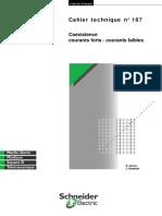 Schneider Electric - Cahier Technique 187 - Coexistance Courants Forts Et Courants Faibles