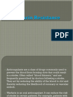 Warfarin Resistance