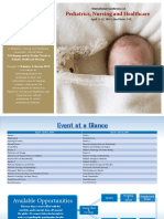 Pediatrics&Nursing 2019 Brochure