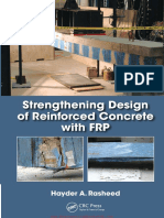 Strengthening Design of Reinforced Concrete With FRP by Hayder a Rasheed