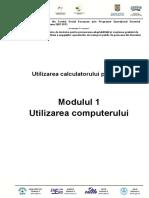ECDL M1 - Utilizarea Computerului