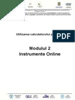 ECDL M2 - Instrumente Online